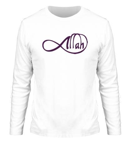 Мужской лонгслив Allah infinite