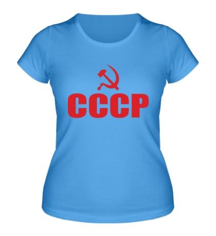 Женская футболка СССР