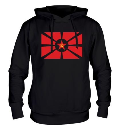 Толстовка с капюшоном Флаг СССР