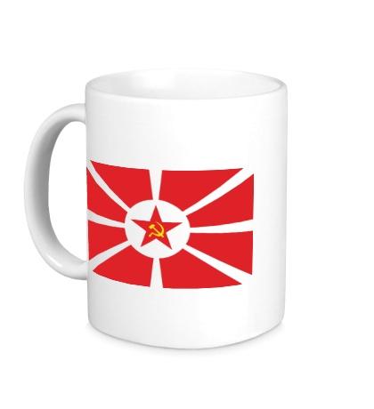 Керамическая кружка Флаг СССР