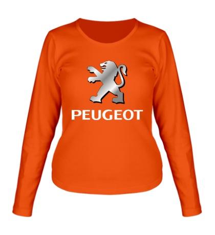 Женский лонгслив Peugeot