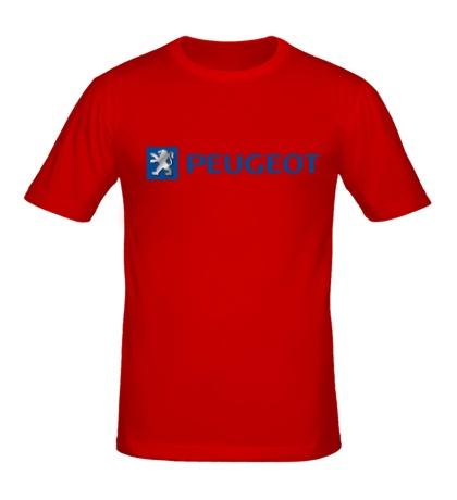 Мужская футболка Peugeot Line