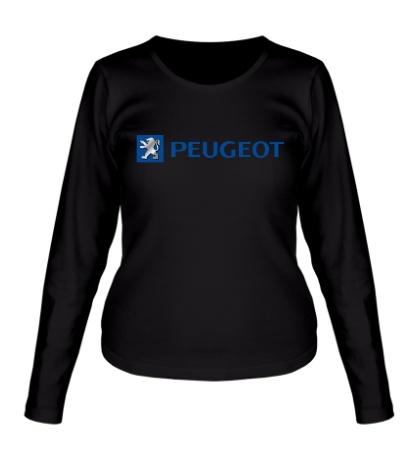 Женский лонгслив Peugeot Line