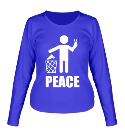 Женский лонгслив Peace People