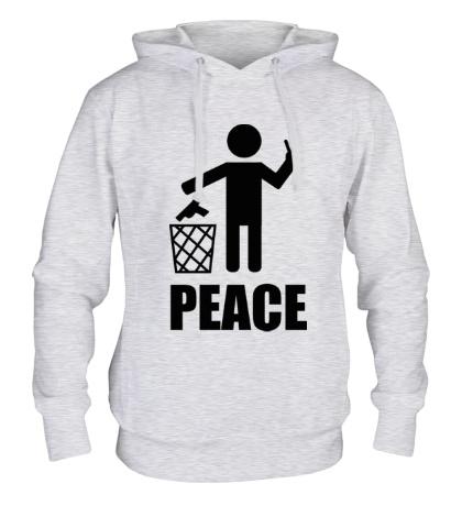 Толстовка с капюшоном Peace People