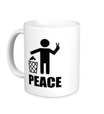 Керамическая кружка Peace People