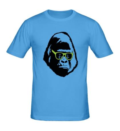 Мужская футболка Горилла в очках