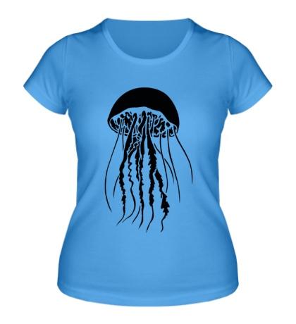 Женская футболка Медуза