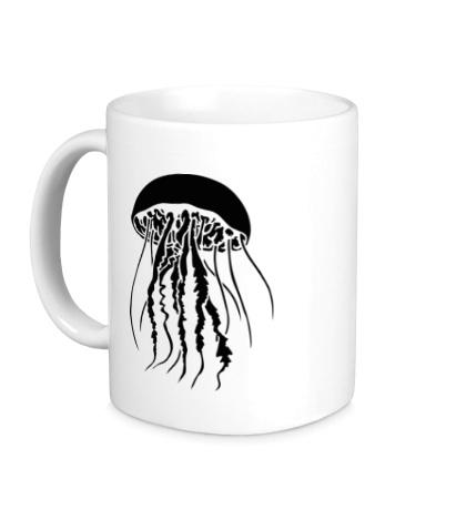 Керамическая кружка Медуза