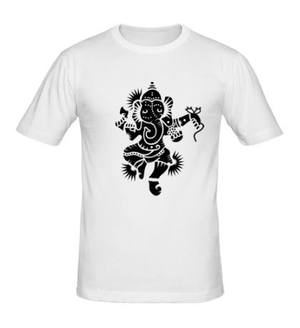 Мужская футболка Божество Ганеша