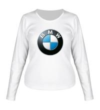 Женский лонгслив BMW Logo