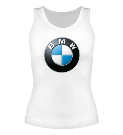 Женская майка BMW Logo