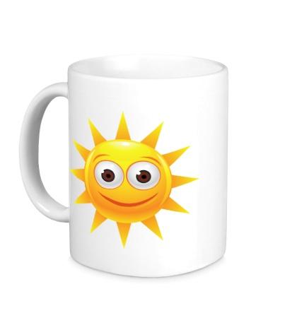 Керамическая кружка Счастливое солнышко