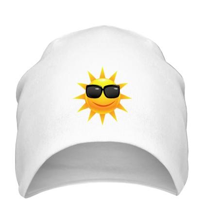 Шапка Солнце в очках