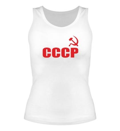 Женская майка За СССР