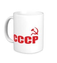 Керамическая кружка За СССР