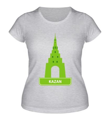 Женская футболка Kazan City