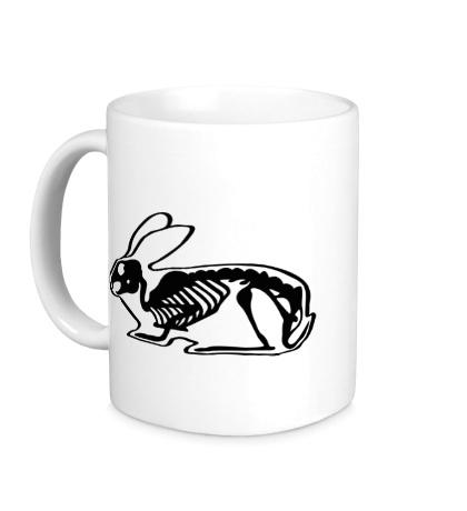 Керамическая кружка Рентген зайца