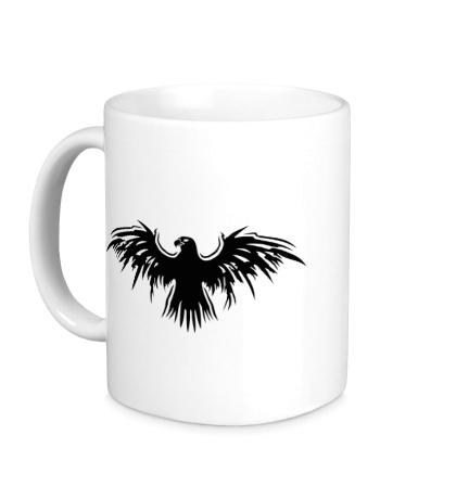 Керамическая кружка Символ орла