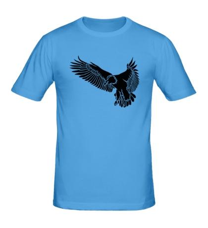 Мужская футболка Летящий орел