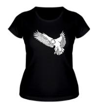 Женская футболка Летящий орел