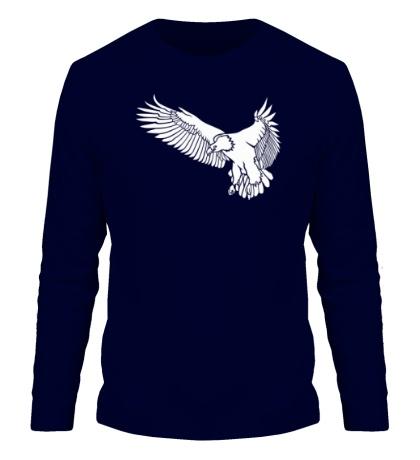 Мужской лонгслив Летящий орел