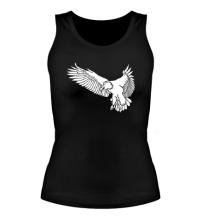 Женская майка Летящий орел