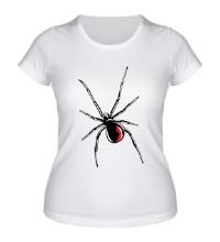 Женская футболка Черная вдова