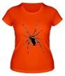 Женская футболка «Черная вдова» - Фото 1