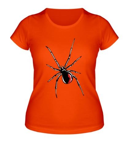 Женская футболка «Черная вдова»