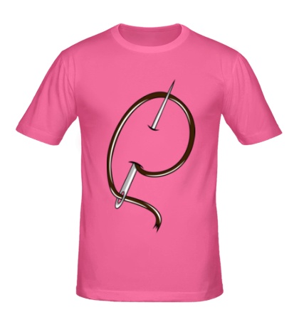 Мужская футболка «Иголка с ниткой»