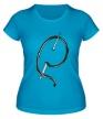 Женская футболка «Иголка с ниткой» - Фото 1