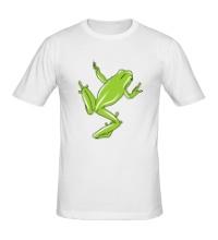 Мужская футболка Зеленая лягушка
