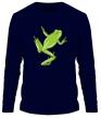 Мужской лонгслив «Зеленая лягушка» - Фото 1