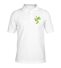 Рубашка поло Зеленая лягушка