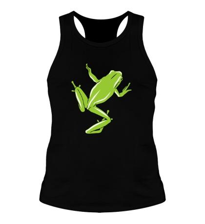 Мужская борцовка Зеленая лягушка