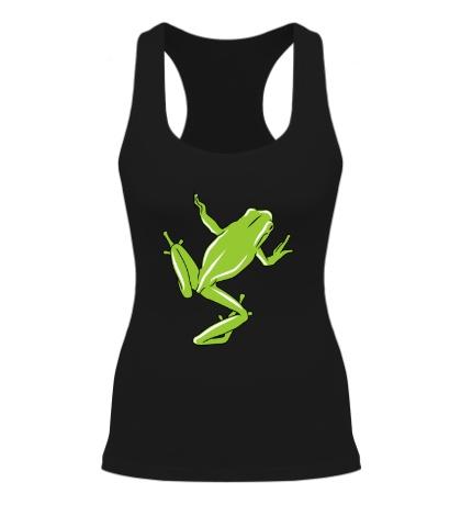 Женская борцовка Зеленая лягушка