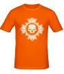 Мужская футболка «Череп внутри креста» - Фото 1