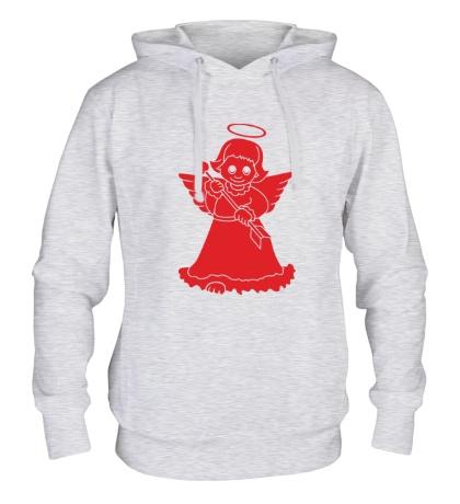 Толстовка с капюшоном «Ангелочек»