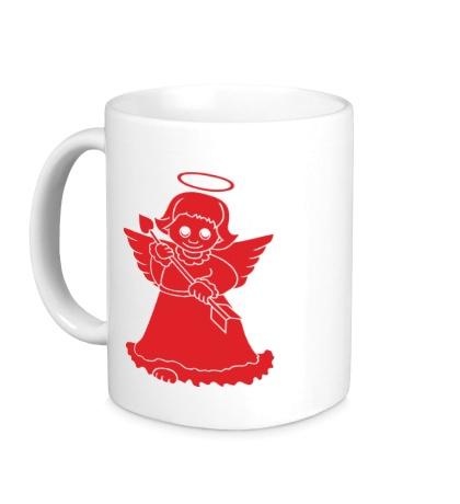 Керамическая кружка «Ангелочек»