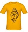 Мужская футболка «Прекрасный цветок» - Фото 1