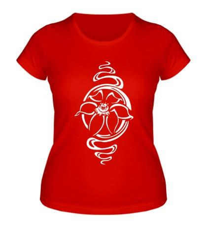 Женская футболка Прекрасный цветок