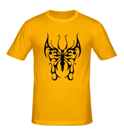 Мужская футболка Бабочка узор