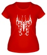 Женская футболка «Бабочка узор» - Фото 1