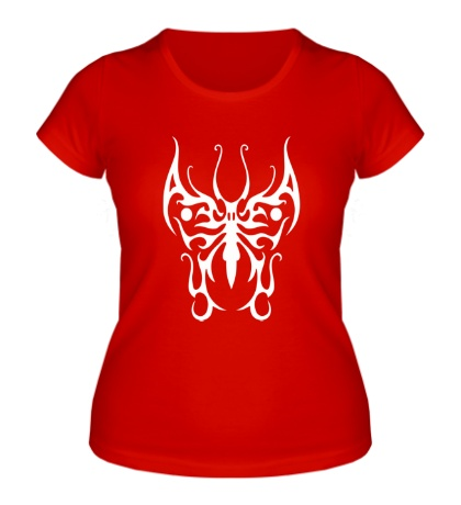 Женская футболка Бабочка узор