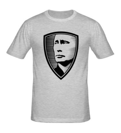 Мужская футболка «Портрет Путина»