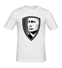 Мужская футболка Портрет Путина