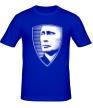 Мужская футболка «Портрет Путина» - Фото 1