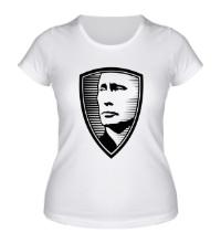 Женская футболка Портрет Путина