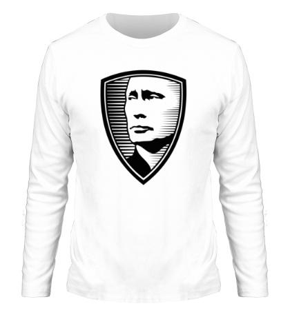 Мужской лонгслив «Портрет Путина»